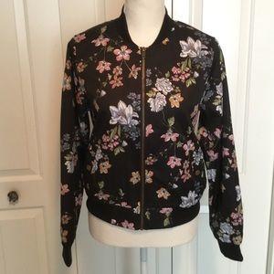 Stunning floral bomber jacket Hippie Rose 🌹